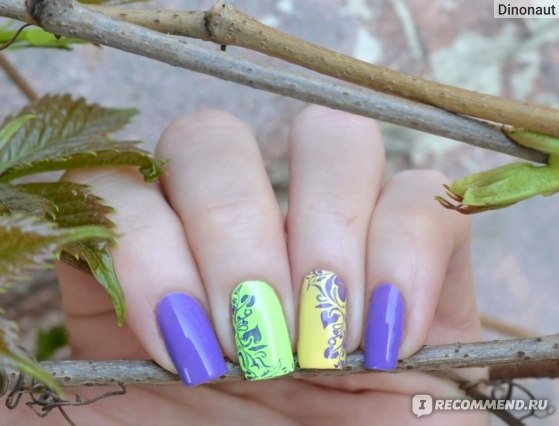 China Glaze What a pansy + Grass is lime greener + Lemon Fizz