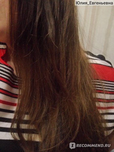 Вот так волосы ведут себя сразу после расчесывания