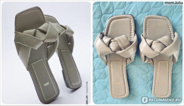 женские сандалии Зара с плетеными ремешками