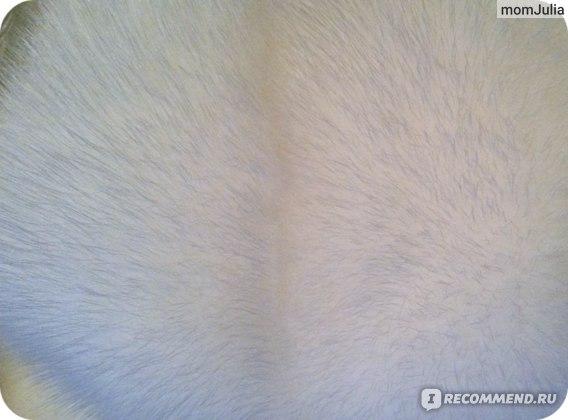 белая норковая шуба мех близко