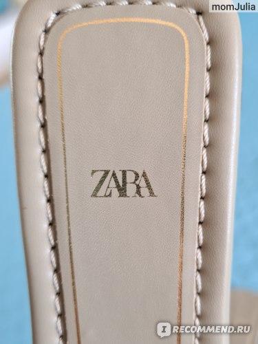 женские сандалии Зара