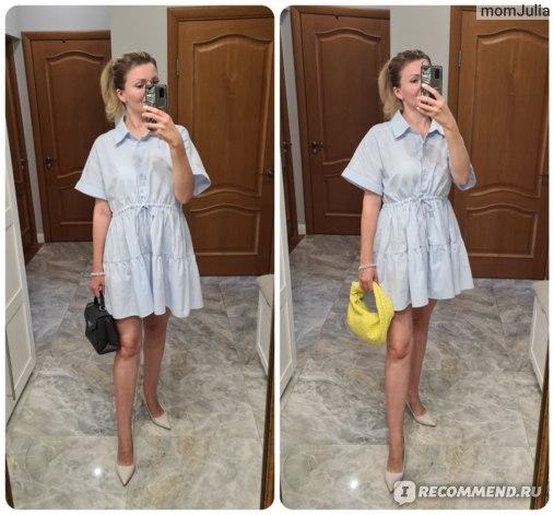 Жеснкое платье Зара Zara