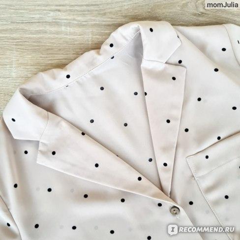 блузка с английским воротником