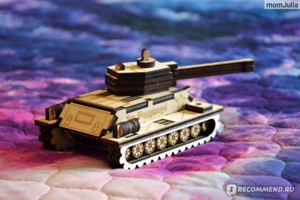 Игрушка-конструктор танк Т34