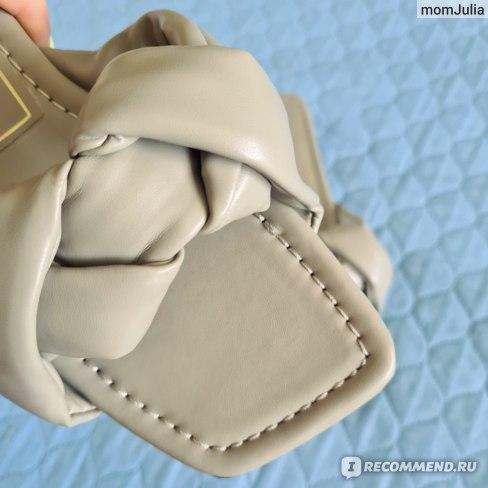 плетеные сандалии Zara