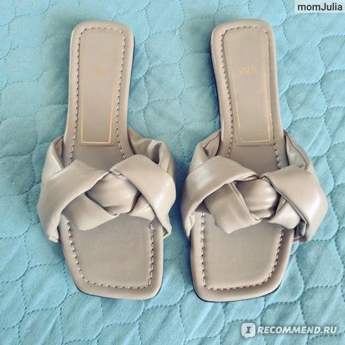 плетеные сандалии Zara отзывы
