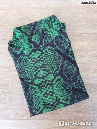 женская одежда со змеиным принтом алиэкспресс