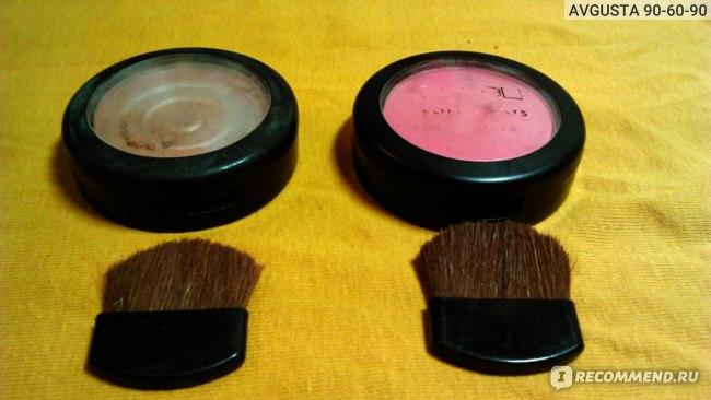 Румяна Lamel Professional Soft lights blush powder фото