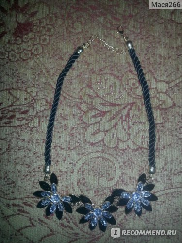Бижутерия Aliexpress Statement Choker Necklace For Women Fashion Brand Beaded Flower Pendants Necklaces Designer Women Necklaces & Pendants Jewelry фото