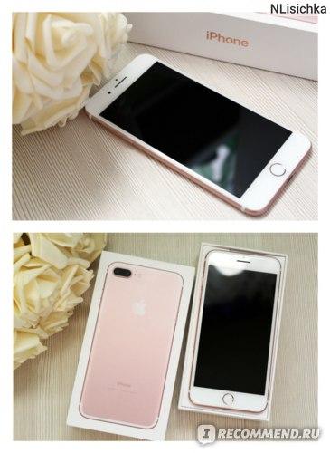 Смартфон Apple iPhone 7 plus фото