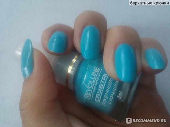 Лак для ногтей Revolline Crystal фото