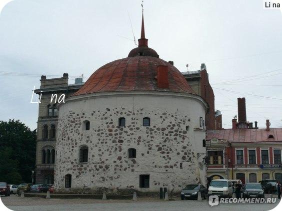 Круглая башня на Рыночной площади Выборга