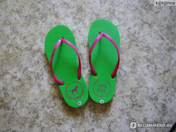 Шлепанцы Aliexpress Pink love fashion flipflopper candy color фото