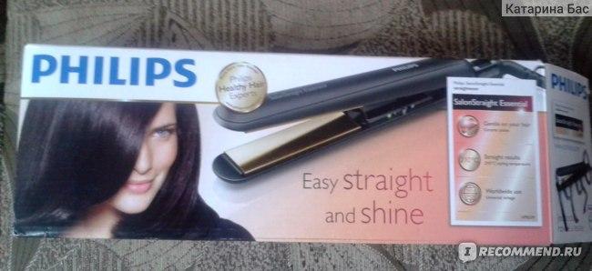 Щипцы для волос Philips salonstraight essential HP8309/00 фото