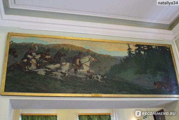 Н.К. Рерих. Утро княжьей охоты  1901