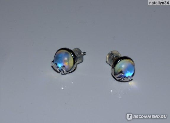 Серьги-гвоздики Aliexpress Thaya 925 Silver Aurora Forest Earring Earrings Original Design Jewelry for Women Elegant Gift фото