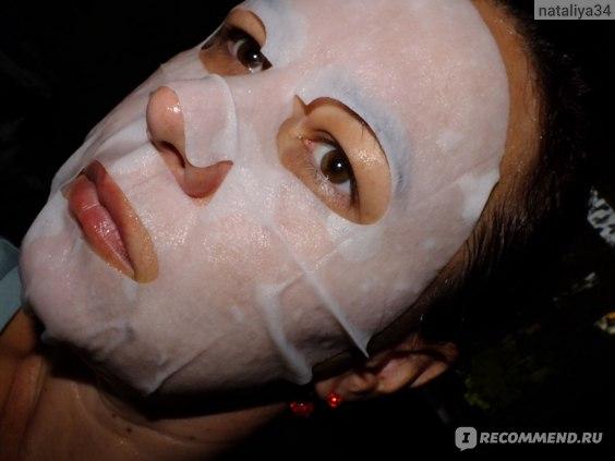 Тканевая маска для лица SODA Milk Essence Brightening Facial Mask фото