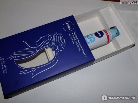 Сухой шампунь NIVEA для темных волос фото