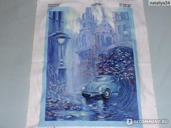 "Набор для вышивания ""Осенний гость"" Nova Sloboda,  29 х 41 см,   артикул 547243 фото"