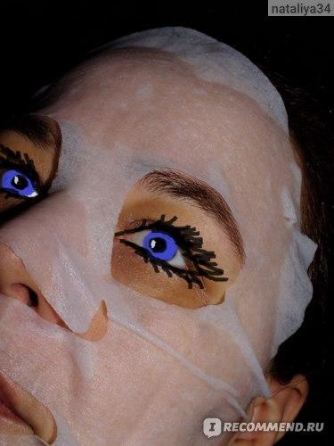 Тканевая маска для лица SENDO Восстанавливающая с коллагеном и муцином улитки фото