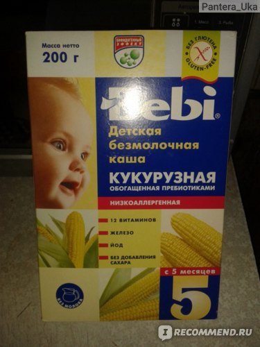 Каши быстрого приготовления Bebi Детские безмолочные фото