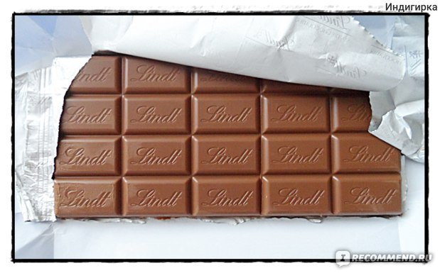 Шоколад Lindt Lait Extra fin фото