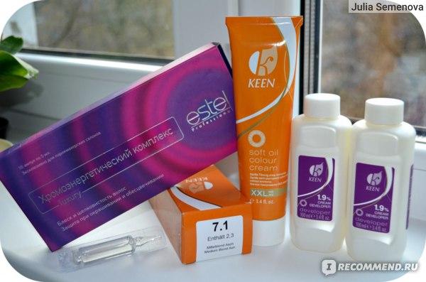 Крем-краска для волос KEEN  фото