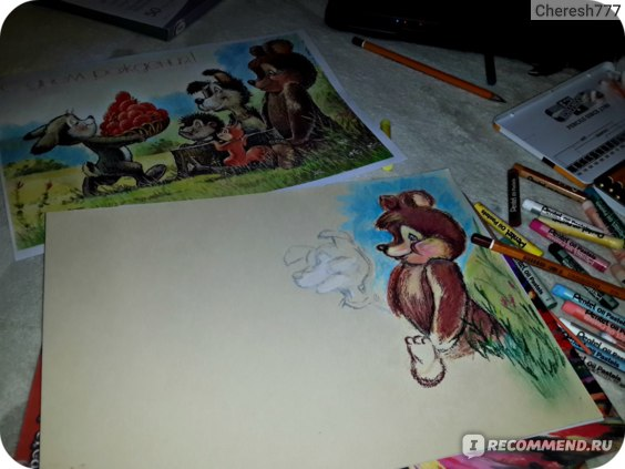 Пастель масляная Pentel Arts фото