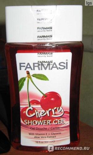 Гель для душа Farmasi Вишня фото