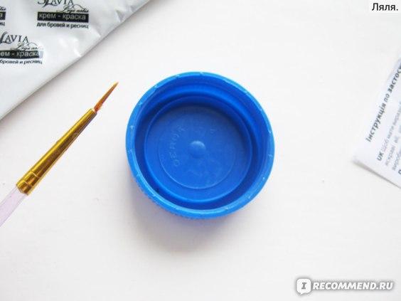 Краска для бровей и ресниц Slavia lege artis коричневый тон фото