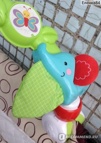 Шуршащий хвостик у слоника (зеленая часть)