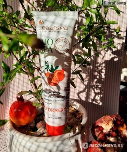 13 Крем для тела SEA of SPA Bio Spa увлажняющий с минералами Мертвого моря и экстрактом граната (Pomegranate Hudration Cream)