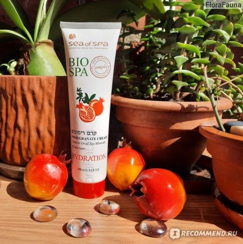 2 Крем для тела SEA of SPA Bio Spa увлажняющий с минералами Мертвого моря и экстрактом граната (Pomegranate Hudration Cream)