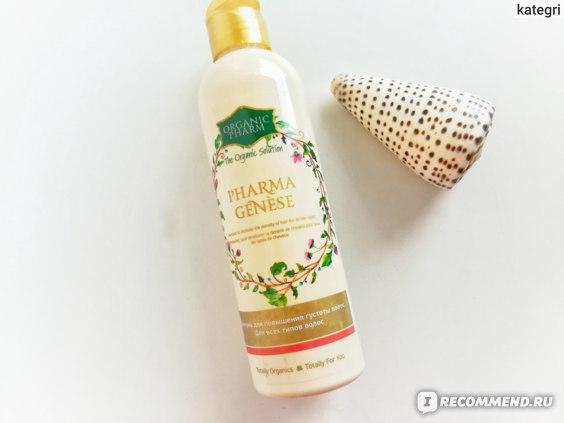 """Шампунь для повышения густоты волос Green Pharma """"PharmaGenese"""" Фармагенез Для всех типов волос фото"""