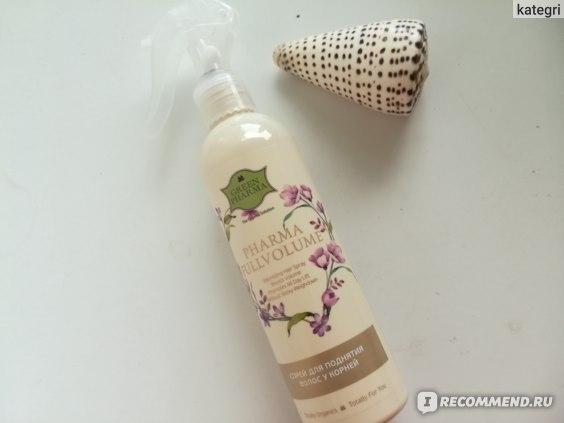 "Спрей для волос Green Pharma ""Pharma Fullvolume"" для поднятия волос у корней отзывы"