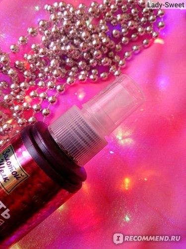 Спрей для волос Золотой шелк Кератин Молекулярное восстановление, лёгкость расчёсывания фото