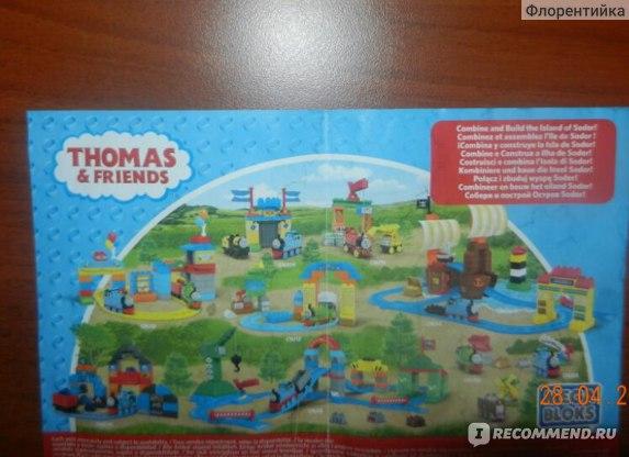 Конструкторы MEGA BLOKS Thomas & Friends фото