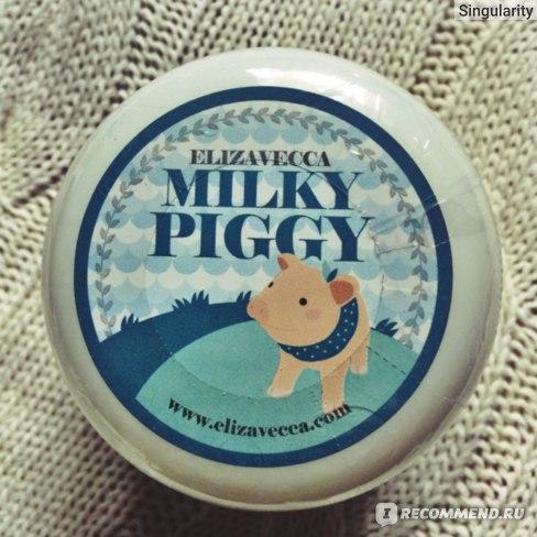 Крем для лица ELIZAVECCA Milky Piggy Sea Salt Cream фото