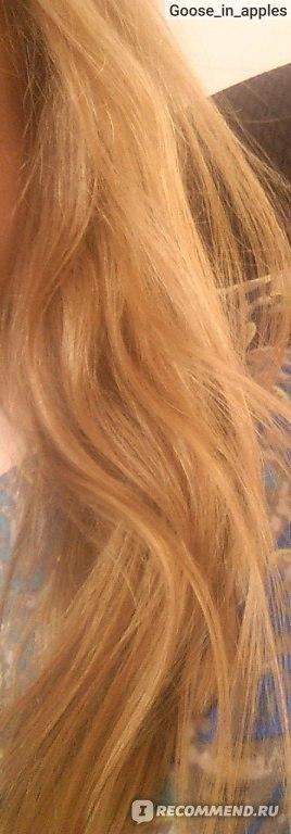 Волосы специально не расчесывала и сфотографилровала в средине дня