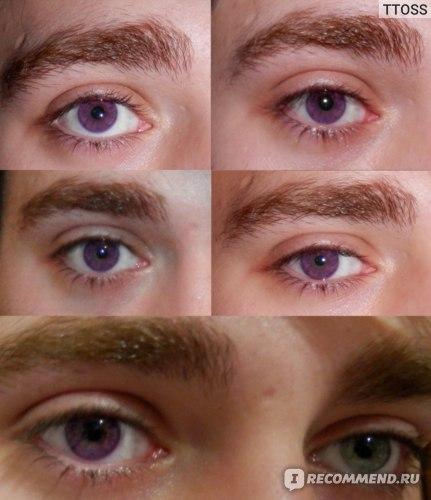 Цветные контактные линзы Конкор  фото