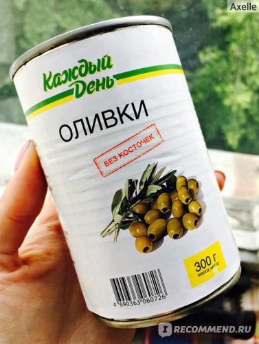 """Оливки Каждый день """"Без косточек"""" фото"""