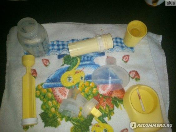 Молокоотсос Medela Base ручной поршневый фото