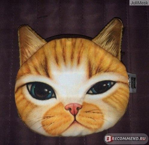 Кошелек Aliexpress Special Design Animal Face Mini Coin Money Zip Pouch Pocket Makeup Wallet Purse фото