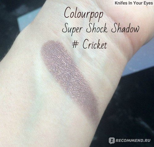 Тени для век ColourPop Super Shock Eyeshadows фото