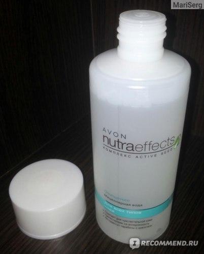 Мицеллярная вода Avon Nutraeffects Очищение Для всех типов кожи фото