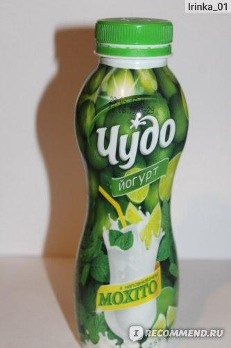 """Йогурт питьевой Чудо """"Мохито"""" фото"""