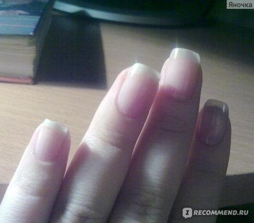 Укрепитель ногтей Умная Эмаль c протеином,  витаминами В5 и А фото