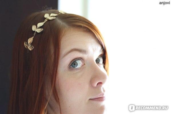Ободок для волос ASOS С Листочками фото