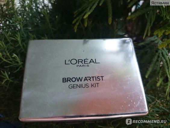 Набор для коррекции бровей L'Oreal Brow Artist Воск и Тени фото