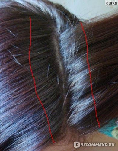 как же оказывается непросто сфотографировать отросшие корни волос :)